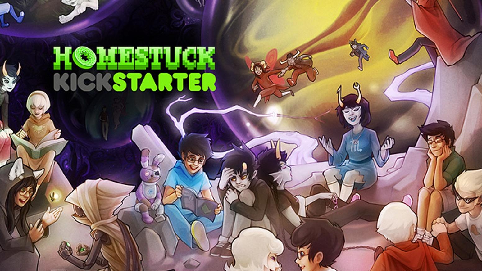 Homestuck Kickstarter