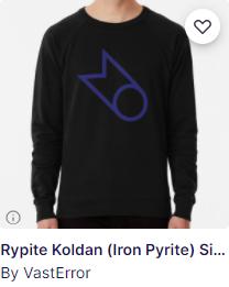 Alchemical symbol shirt